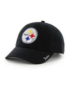 Pittsburgh Steelers '47 Women's TC Black Sparkle Cap