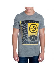 Pittsburgh Steelers Junk Food Touchdown Triblend Short Sleeve T-Shirt