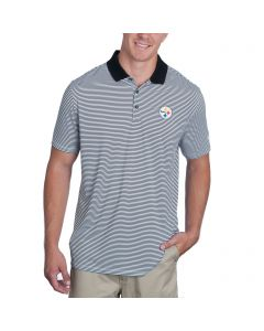 Pittsburgh Steelers Nike Golf Victory Mini Stripe Polo