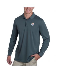Pittsburgh Steelers Nike Golf Victory Long Sleeve Polo