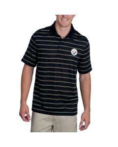 Pittsburgh Steelers Cutter & Buck Venture Stripe Polo