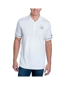 Pittsburgh Steelers Nike Early Season White Polo