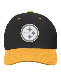 Pittsburgh Steelers Youth Magna Perf Cap