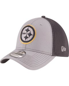 Pittsburgh Steelers New Era 39THIRTY Greyed Out Neo Hat