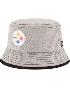 Pittsburgh Steelers New Era Toddler Grey Bucket Cap