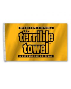 Pittsburgh Steelers 3'x5' Terrible Towel 2 Sided Flag