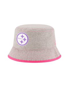 Pittsburgh Steelers New Era Toddler Pink Bucket Cap