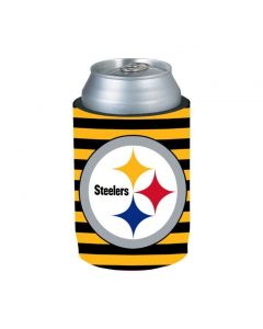 Pittsburgh Steelers Striped Can Logo Coolie