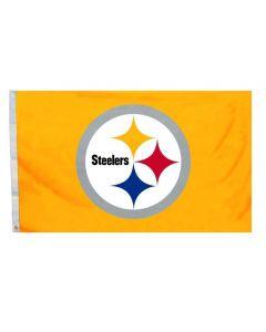 Pittsburgh Steelers Gold Team Logo 4' x 6' Flag