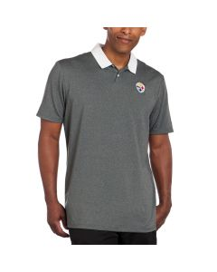 Pittsburgh Steelers Nike Golf Icon Heather Polo