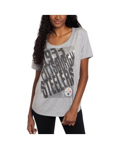 Pittsburgh Steelers '47 Women's Short Sleeve Boyfriend T-Shirt