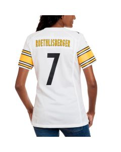 Ben Roethlisberger #7 Women's Nike Replica Away Jersey