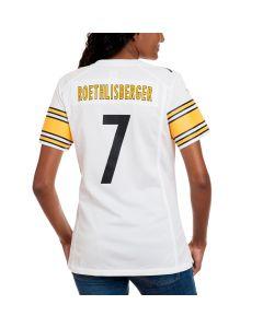 Ben Roethlisberger #7 Women's Nike Replica Away Jersey