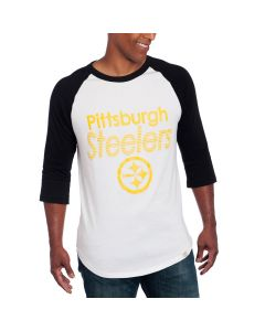 Pittsburgh Steelers Junk Food All American Raglan