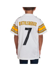 Ben Roethlisberger #7 Youth Nike Away Game Jersey