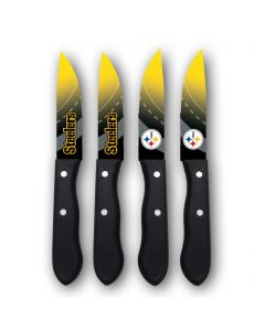 Pittsburgh Steelers 4 Piece Steak Knife Set