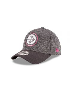 Pittsburgh Steelers New Era 39THIRTY Breast Cancer Awareness (BCA) Sideline Cap