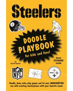 Pittsburgh Steelers Doodle Play Book