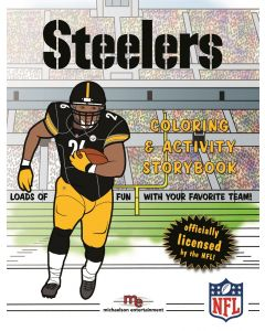 Pittsburgh Steelers Coloring & Activity Book
