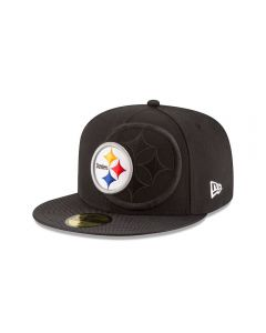 Pittsburgh Steelers New Era Coaches 59FIFTY Low Crown Sideline Hat