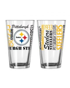 Pittsburgh Steelers Glass Spirit Pint