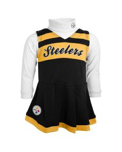Pittsburgh Steelers Infant Girls Cheer Jumper
