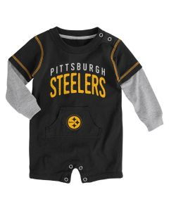 Pittsburgh Steelers Baby Boys Romper Foundation