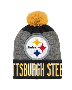 Pittsburgh Steelers Youth Helix Jacquard Knit Cap