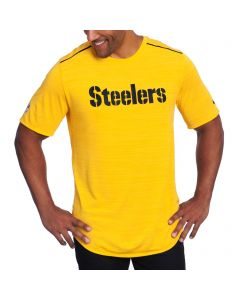 Pittsburgh Steelers Nike Short Sleeve Player Gold T-Shirt