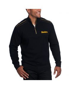 Pittsburgh Steelers Tommy Bahama Flipside Pro Half Zip Fleece