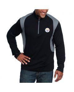 Pittsburgh Steelers Antigua Delta 1/4 Zip Top