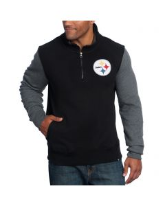 Pittsburgh Steelers '47 Triple Coverage 1/4 Zip Fleece Top