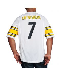 Ben Roethlisberger #7 Nike Replica Away Jersey