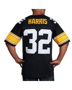Franco Harris #32 Mitchell & Ness Replica Home Jersey