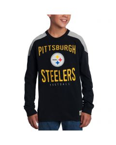Pittsburgh Steelers Boys Legend Long Sleeve T-Shirt