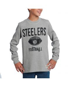 Pittsburgh Steelers Boys Paradigm Long Sleeve T-Shirt