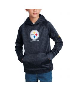 Pittsburgh Steelers Youth Under Armour NFL Combine Fleece Hoodie