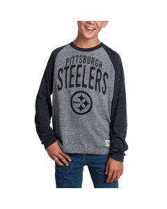 Pittsburgh Steelers Boys Pedigree Long Sleeve T-Shirt