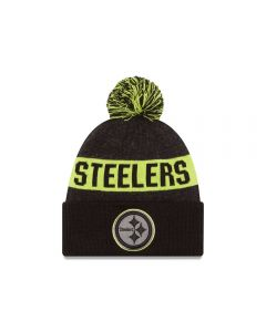 Pittsburgh Steelers New Era Graphite Sport Knit Hat