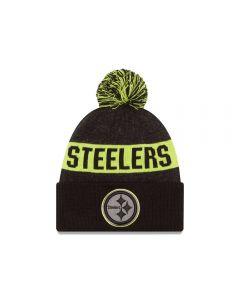 Pittsburgh Steelers New Era Graphite Sport Knit Hat