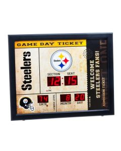 Pittsburgh Steelers Bluetooth Scoreboard Clock
