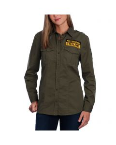 Pittsburgh Steelers Women's Military Field Shirt
