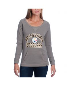 Pittsburgh Steelers '47 Women's Pep Squad Crew Neck Fleece