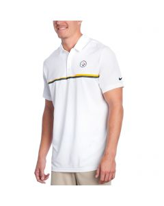 Pittsburgh Steelers Nike Elite Polo white