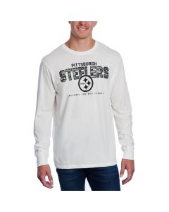 Pittsburgh Steelers '47 Long Sleeve FLANKER Camo T-Shirt