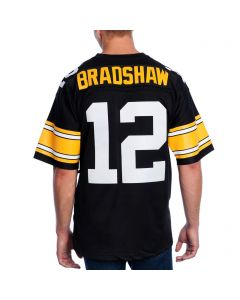 Terry Bradshaw #12 Men's Mitchell & Ness Limited/Replica Jersey