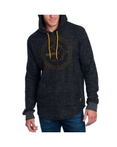 Pittsburgh Steelers Embossed Logo Fleece Hoodie