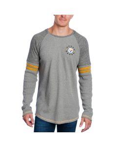 Pittsburgh Steelers Long Sleeve Thermal Raglan T-Shirt