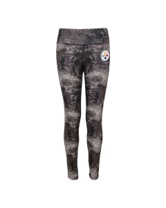 Pittsburgh Steelers Girls Concrete Leggings