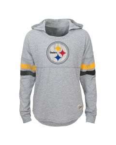 Pittsburgh Steelers Girls Slouch Campus Hoodie